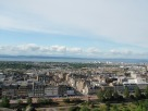 A wonderful view of Edinburgh from the castle.