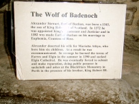 The Wolf of Badenoch Information
