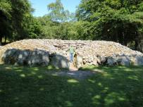 Tyler standing in a Cairn