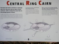 Informative plaque on the Central Ring Cairn