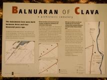 Balnuaran of Clava plaque