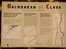 Balnuaran of Clava plaque