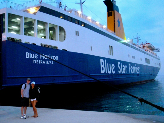 Blue Star Ferry from Bari, Italy to Igoumenitsa, Greece