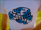 "Tony's ""Deep Scottish Love"" shirt"