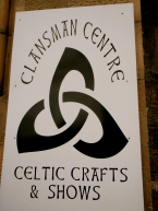 Our tour visited the Clansman Centre for an awesome show