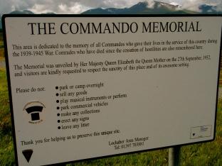 The Commando Memorial - Lochaber, Scottish Highlands