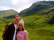 Tyler and I in Glencoe