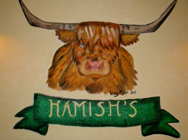 Drawing of Hamish