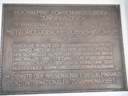 Plaque in Swiss