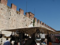 Market and new city walls