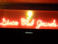After dinner we headed to the club