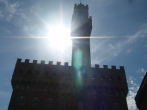 Shadow of Palazzo Vecchio
