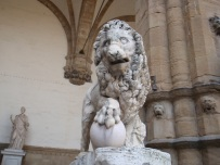 One of the Medici Lions - Fancelli's ancient lion