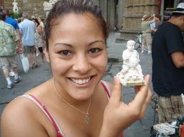 A little Pietro Barbino and turtle statue