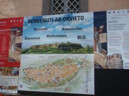 Map of Orvieto