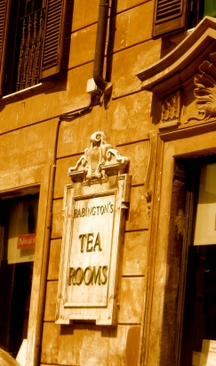 Babington's Tea Room at the foot of the Spanish Steps