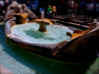 Fountain by Spanish Steps