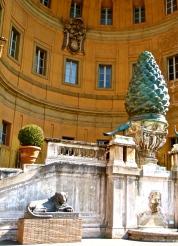 Bronze Pigna at Vatican