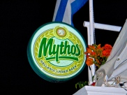They served Mythos beer.