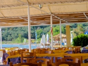 The Taverna in the day time.
