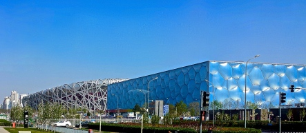 The Bird's Nest and Water Cube