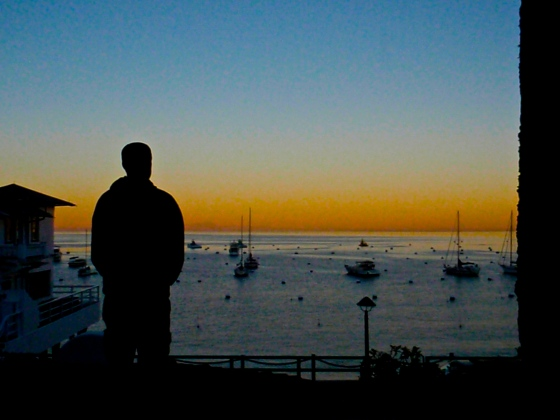 Taking in the view - Catalina Island