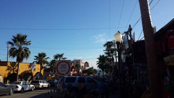 Puerto Nuevo shopping area