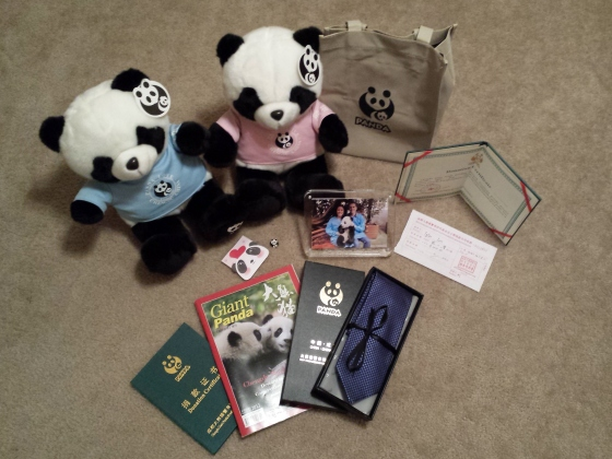 Chengdu Research Base of Giant Panda Breeding Donation Goodie Bag