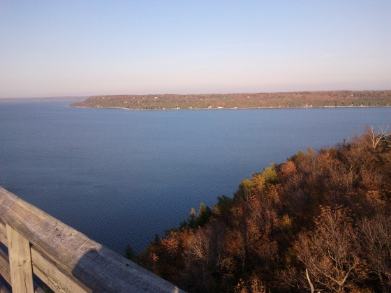 The view from Lookout Tower