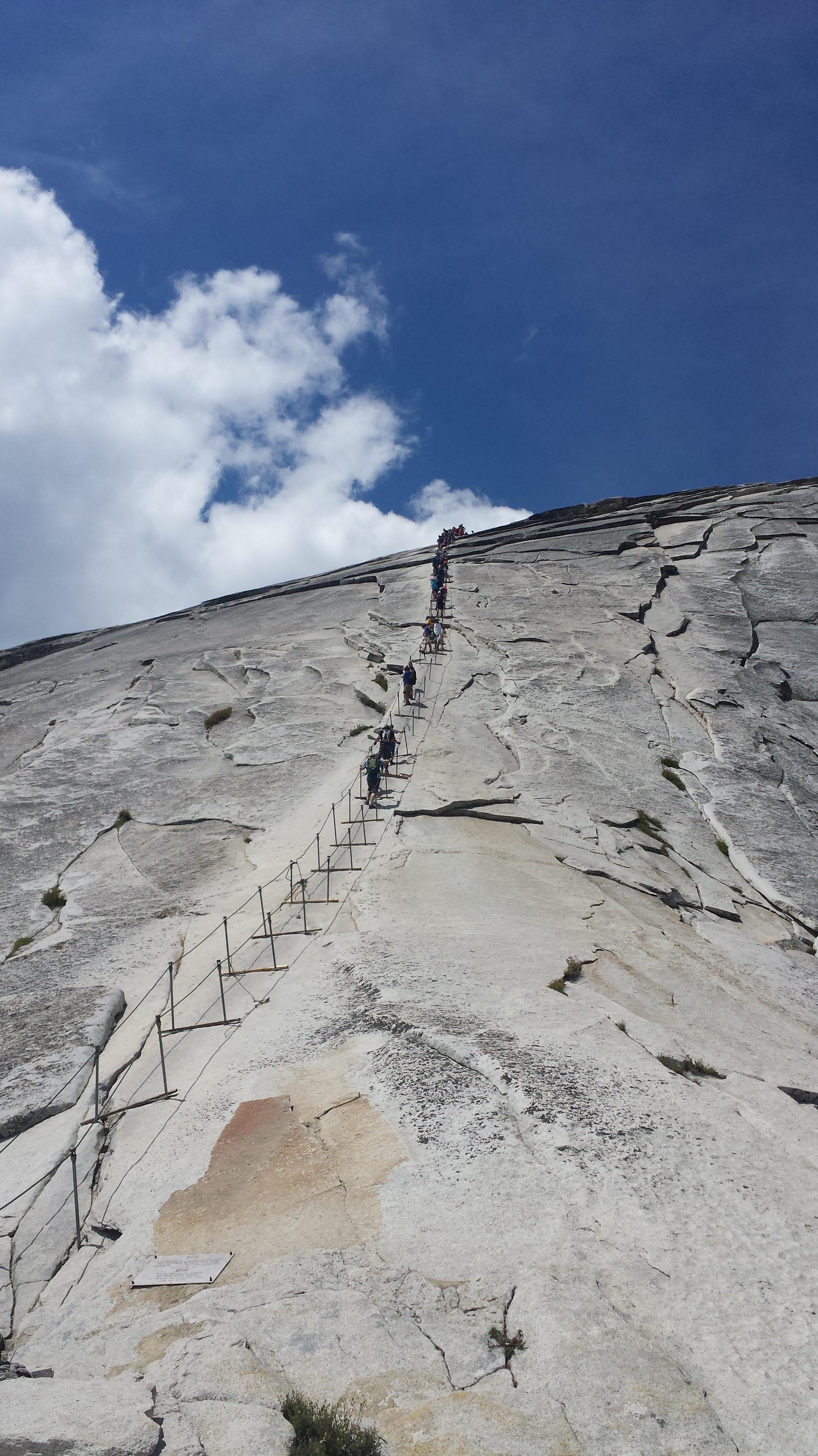 Half Dome Hike Yosemite Jessetters
