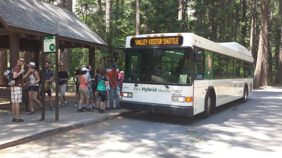Free shuttle around the valley.