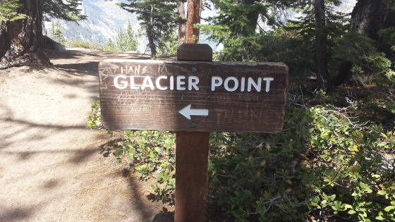 That way to Glacier Point!