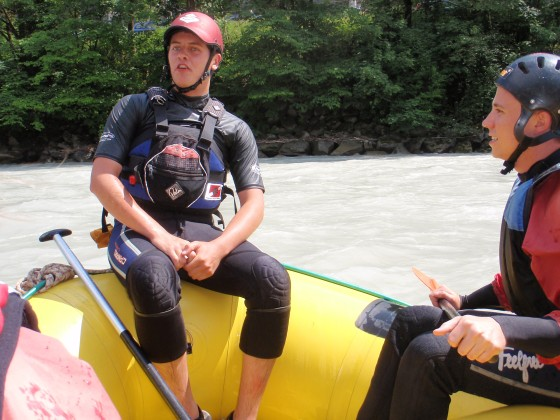 Our raft's instructor