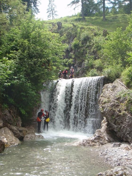 The beginners waterfall