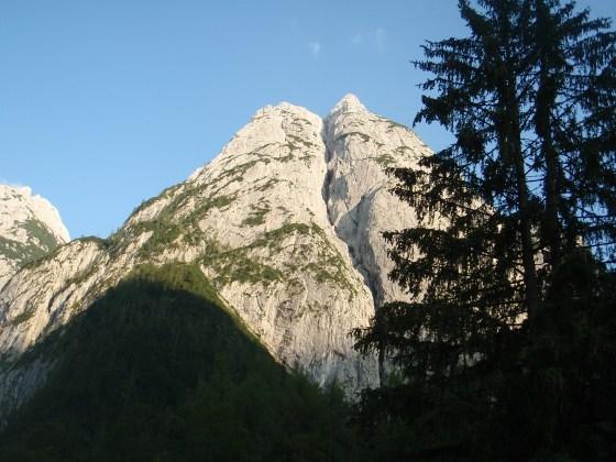 Mountain near St. Johann