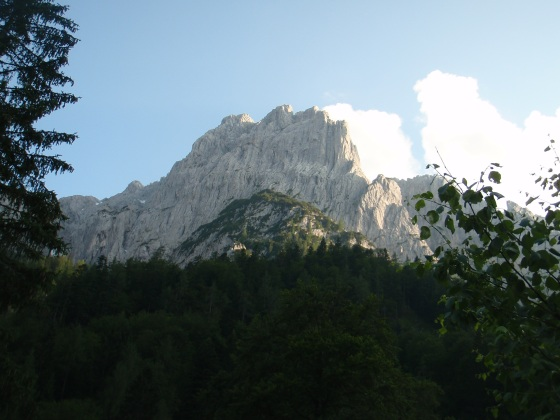 Mountain range near St. Johann