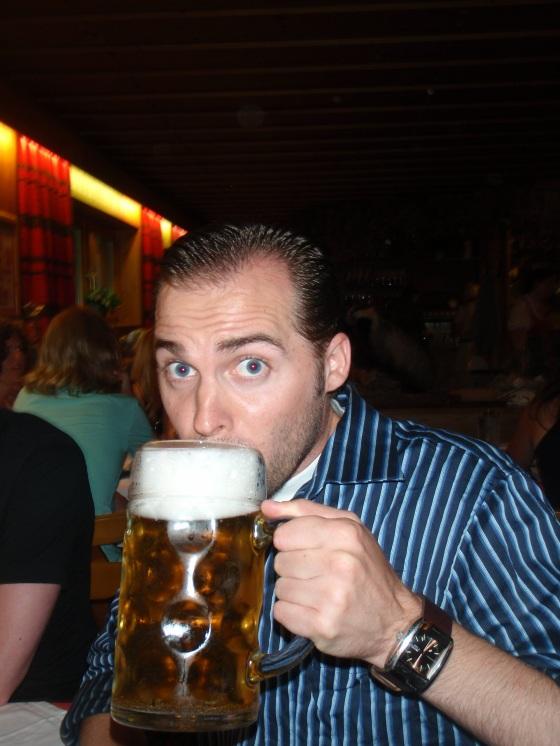 Austria beer=big and delicious