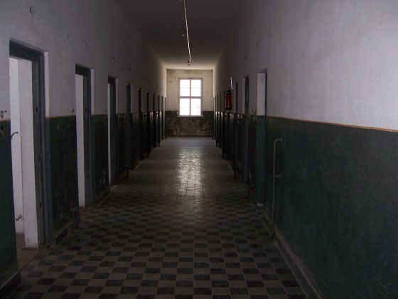 Inside camp jail