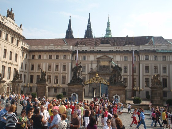 Gates to Prague Castle