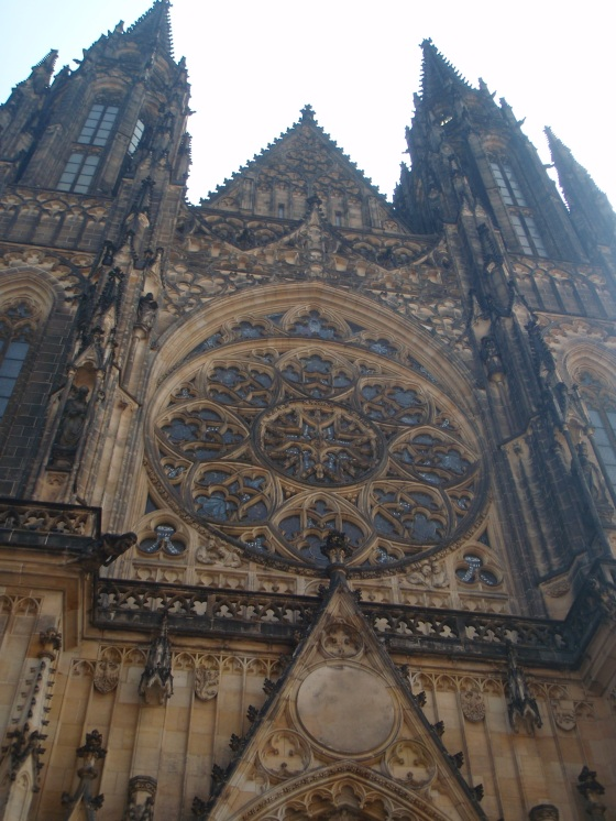 Prague Castle....too big to fit in a picture