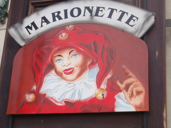 Apparently, Marionettes are a big deal here.