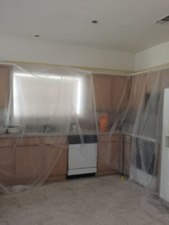 Kitchen covered.