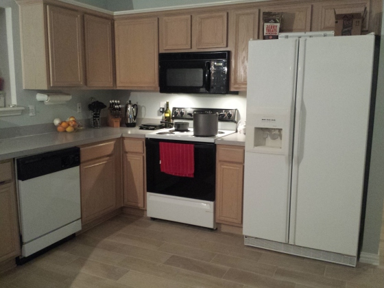 Before new appliances