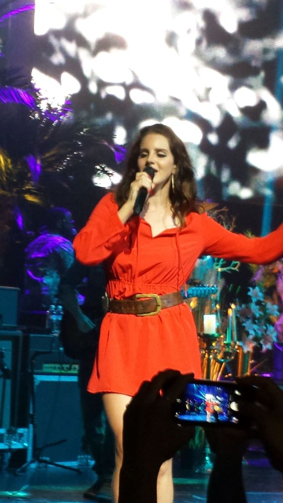 Went to see Lana Del Ray in concert... amazing!