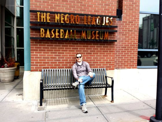 Then went to the Negro League Baseball Museum
