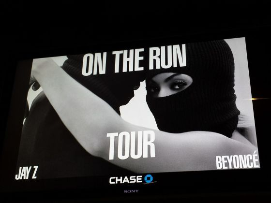 Went to see Beyonce and Jay-Z for their On the Run tour!