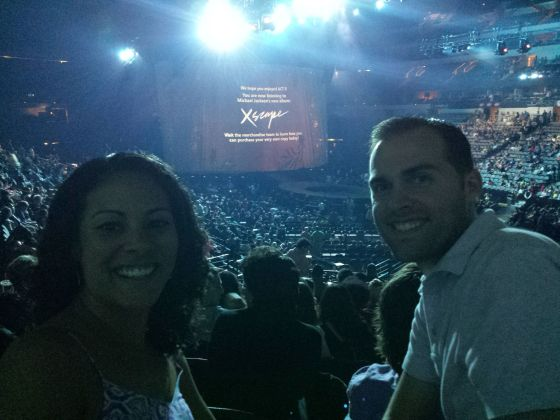 Went to the Michael Jackson The Immortal Tour for Cirque Du Soleil!