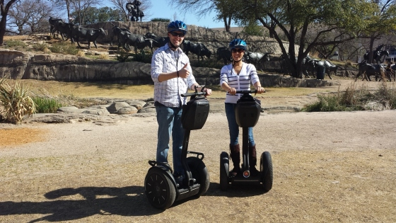 Rode our first Segways!