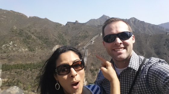 We hiked the Great Wall of China