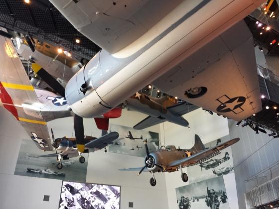 WWII war planes